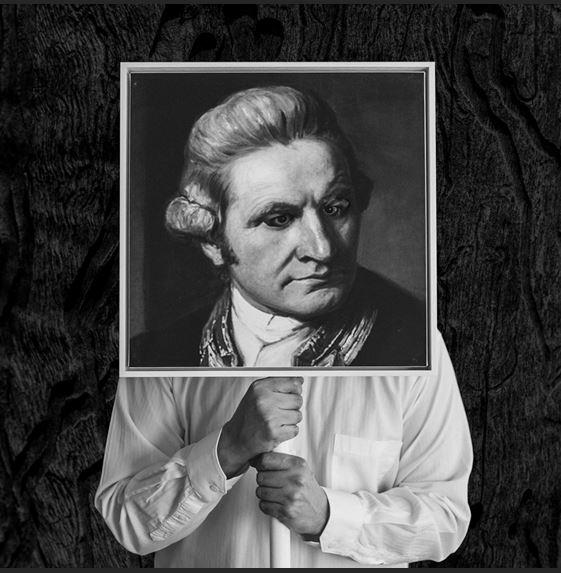 Captain Cook artwork at Michael Reid Sydney