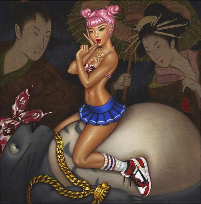 Mimi Yoon Miyazaki Art at Spoke Art