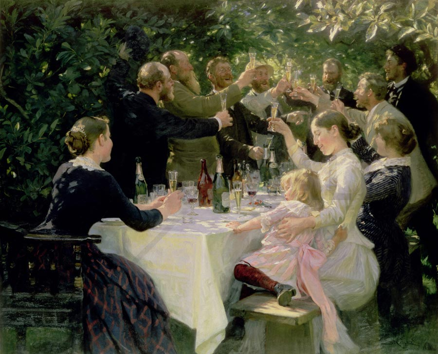 Peder Kroyer Danish painting