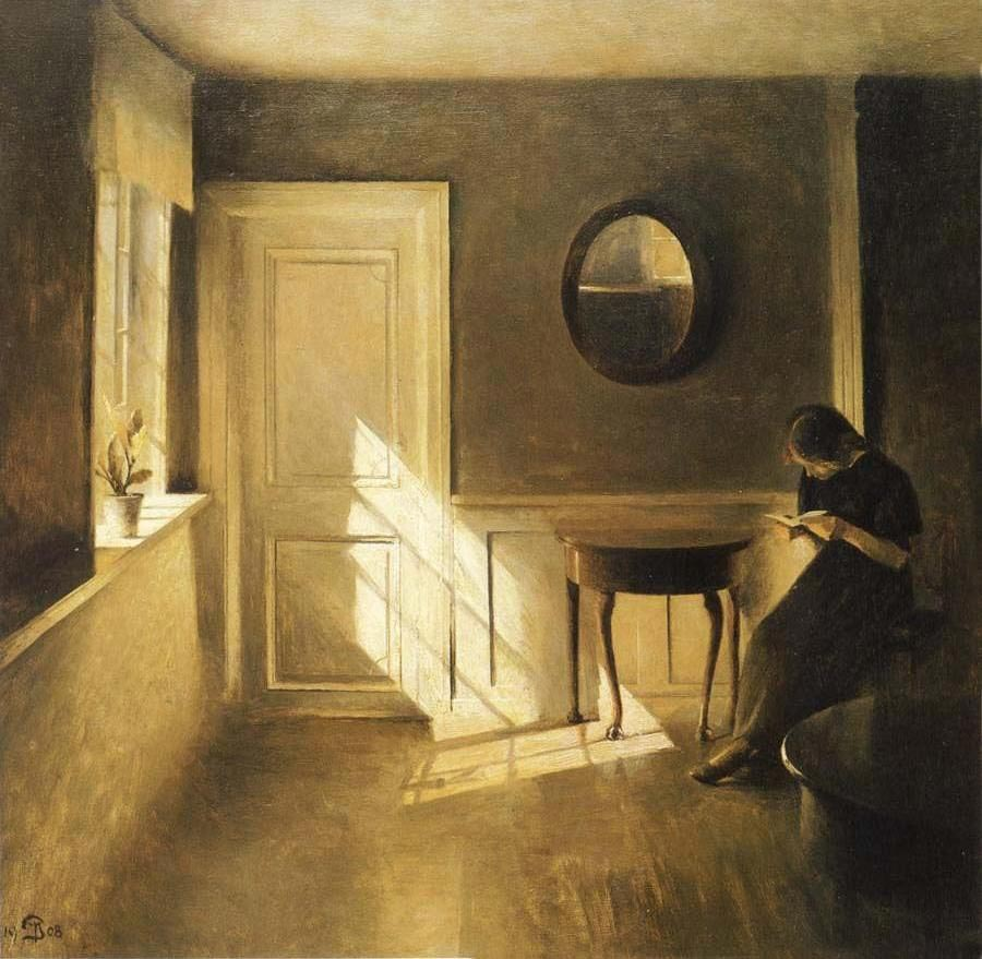 Peter Ilsted Danish painting