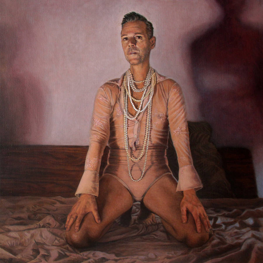 Tanya Atanasova Boudoir: Portrait of Alessandro Tomassetti 'The Creator and The Muse'