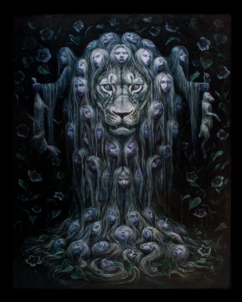 Tomohiro Takagi surreal painting