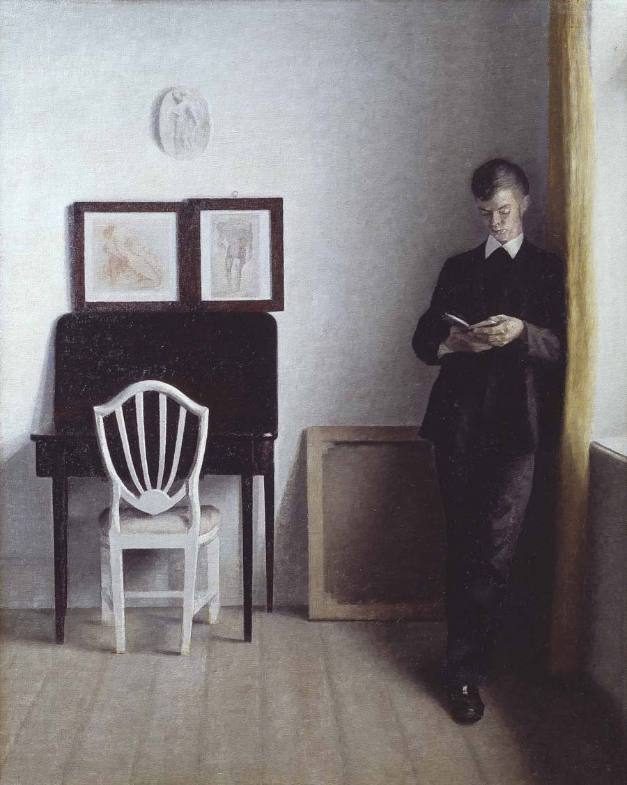 Vilhelm Hammershoi Danish painting
