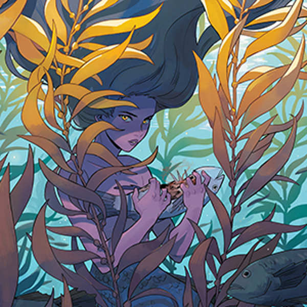 Michelle Wong mermaid art at Gallery Nucleus