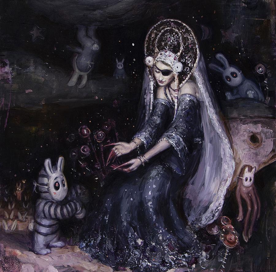 Nadezda - she creates - gaia reborn - issue 25