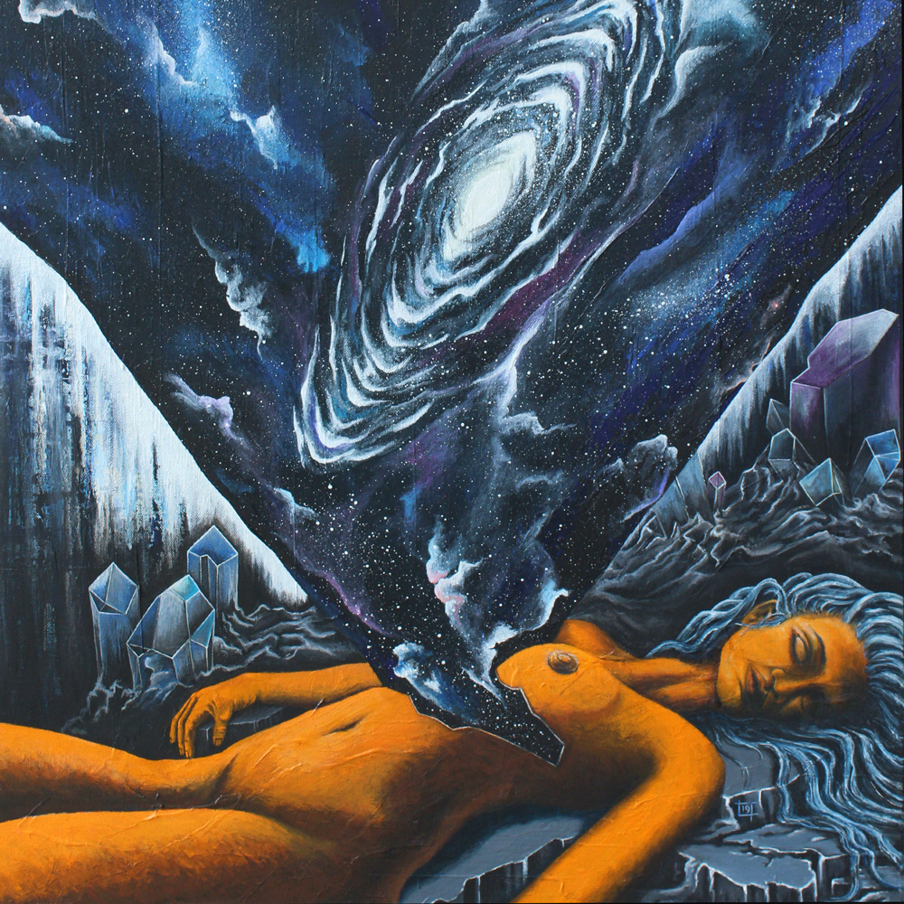 """""""Deep Space"""" online-only group exhibit The Copper Wolf"""