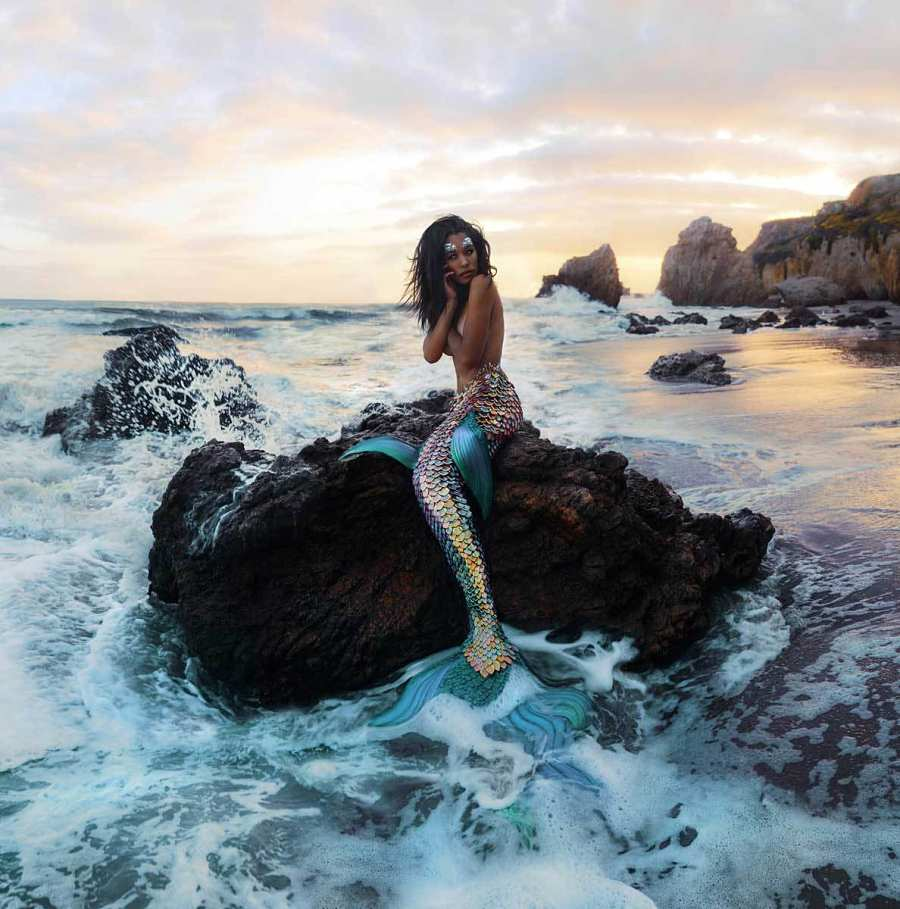 Kindra Nikole mermaid photography Modern Eden Gallery