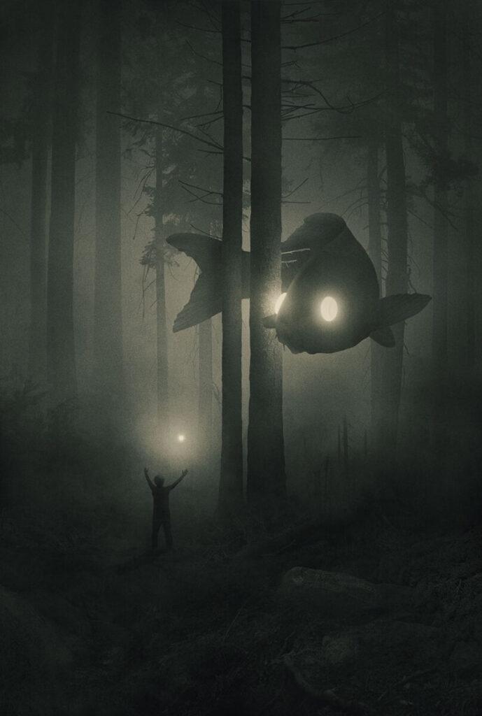 dawid planeta-fish-deep forest