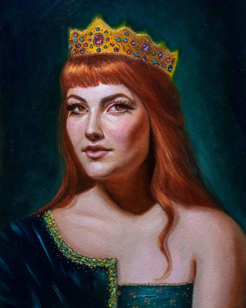 Foksynes Bridig queen portrait