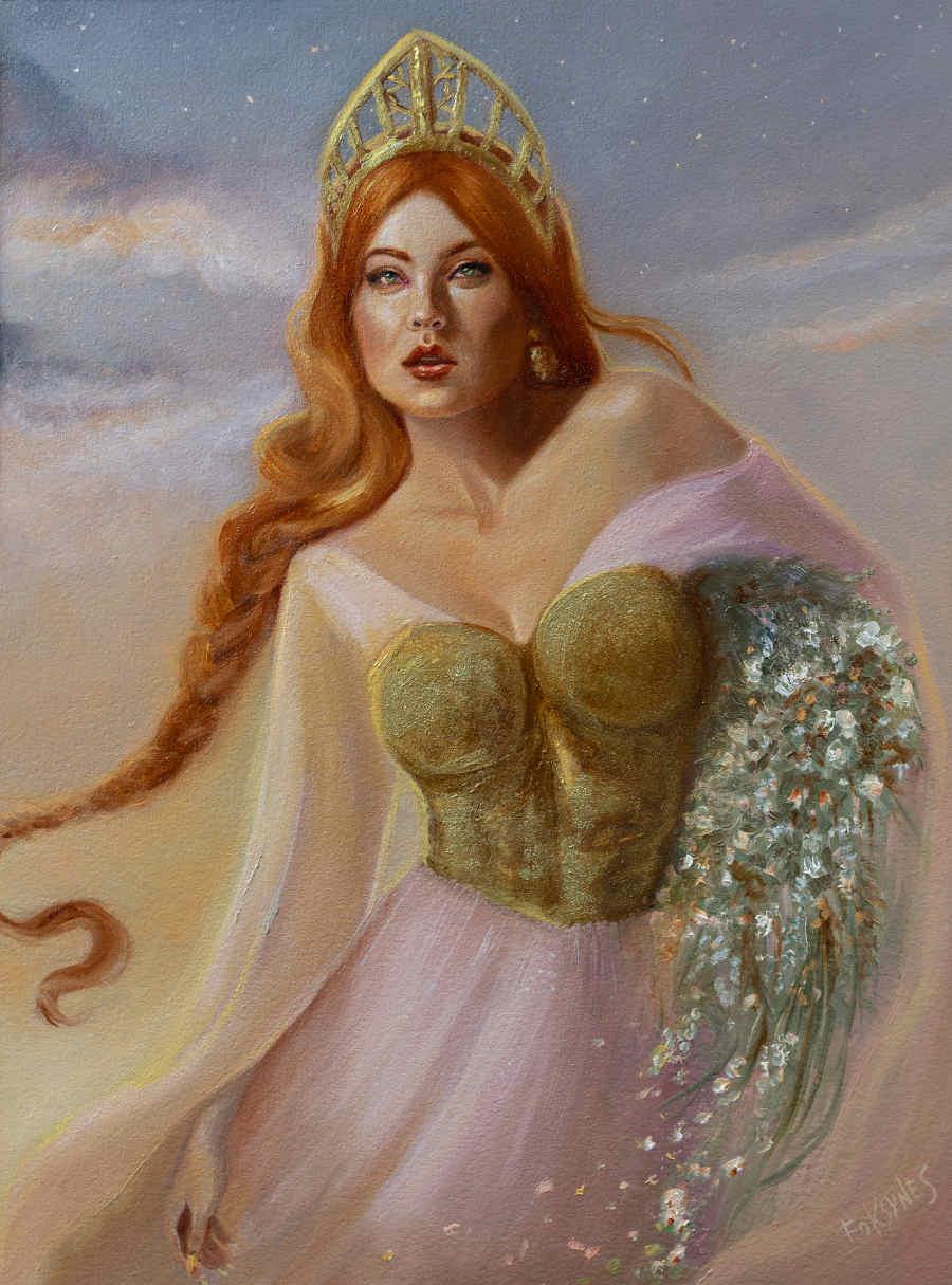 Foksynes Lada queen portrait