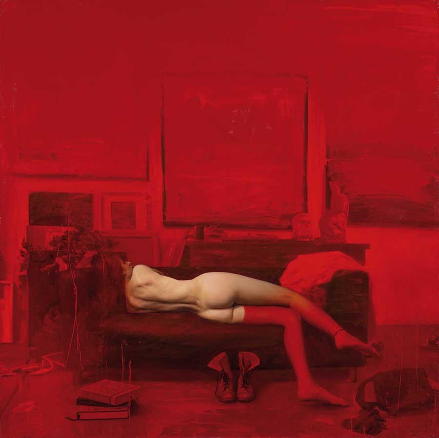 Jordi Diaz Alama nude figurative painting