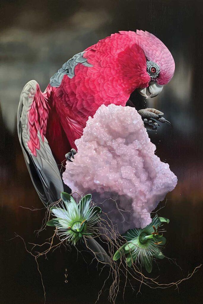 josie morway - realism bird painting