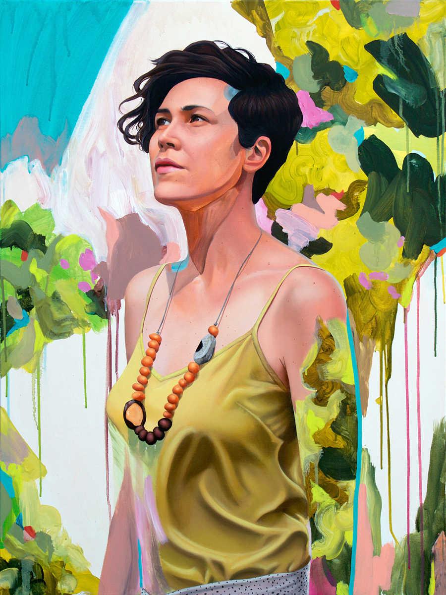 Kim Leutwyler surreal painting PoetsArtists