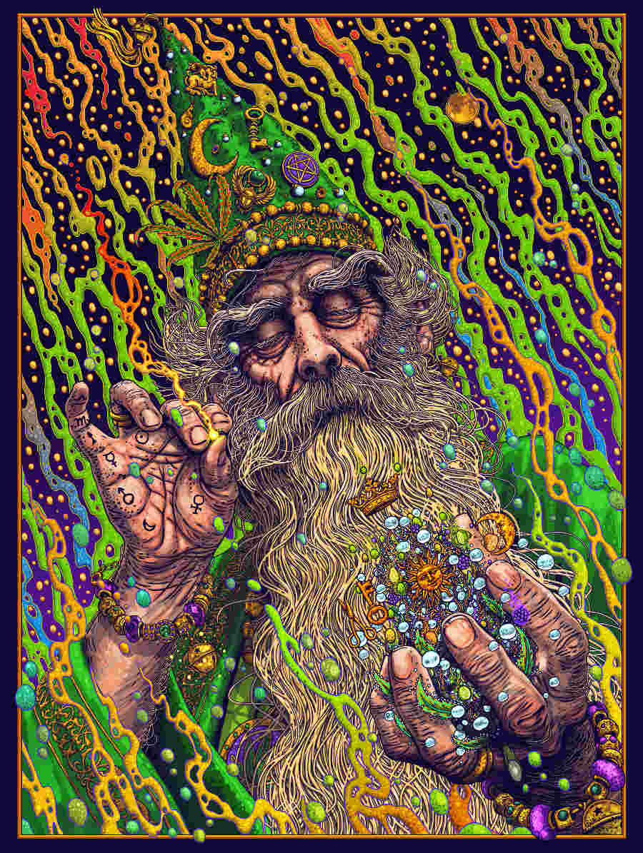 Rosenfeldtown psychedelic alchemist High Art 2020