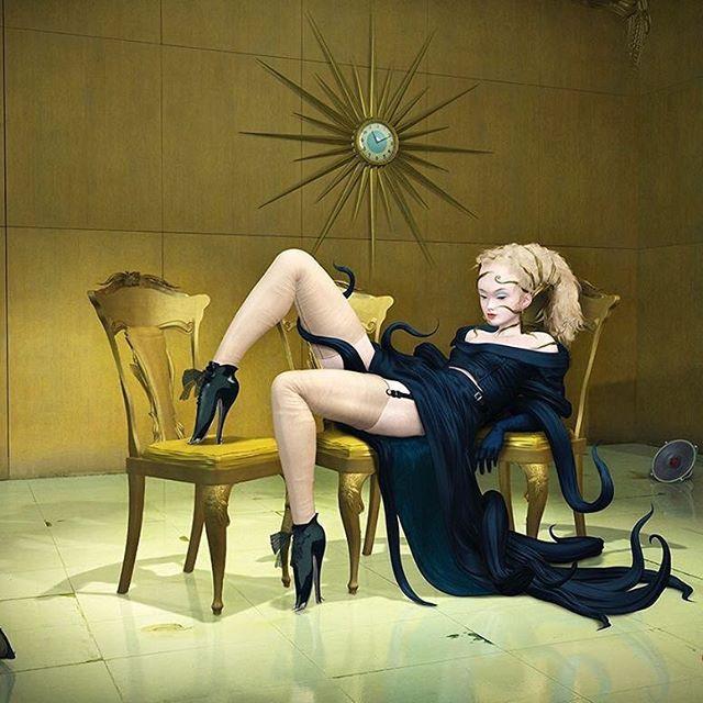 Raw Caesar digital surrealism at Benjamin Eck