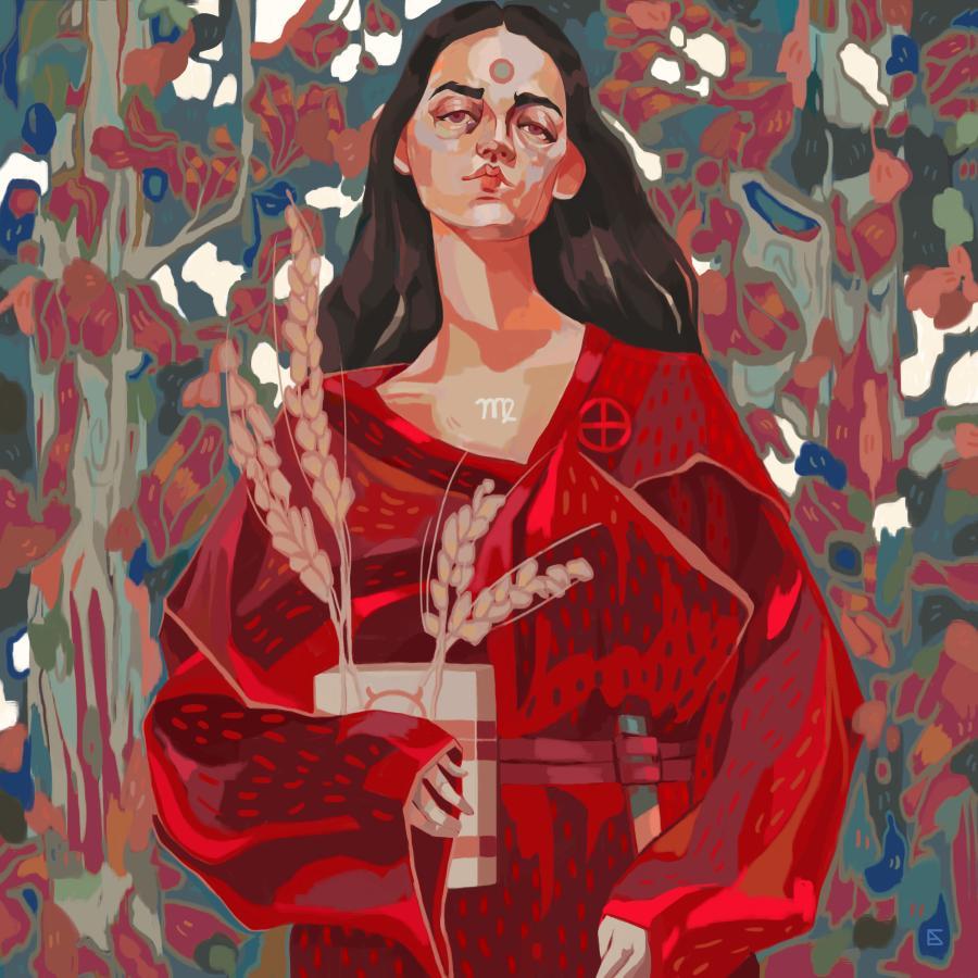 Alejandra Caballero Painting of Virgo