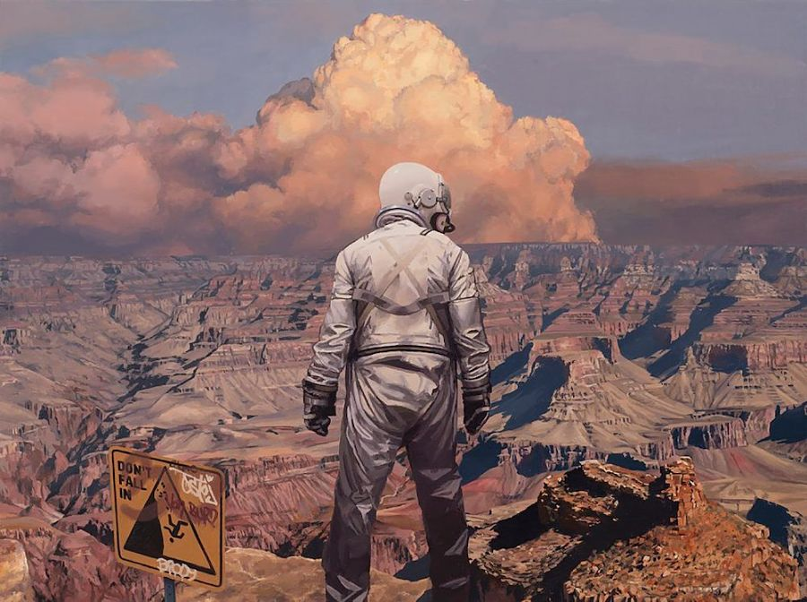"""SCOTT LISTFIELD """"This Is America"""" Thinkspace Projects"""