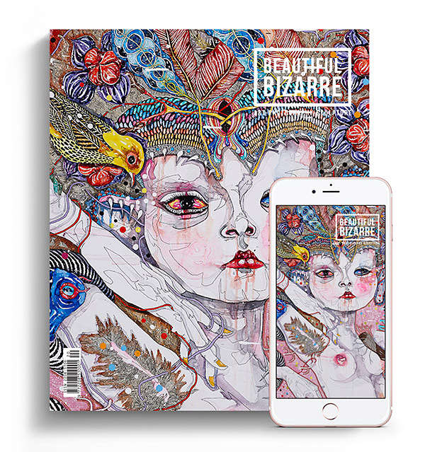 Beautiful Bizarre Magazine March 2018 Issue 20 Del Kathryn Barton