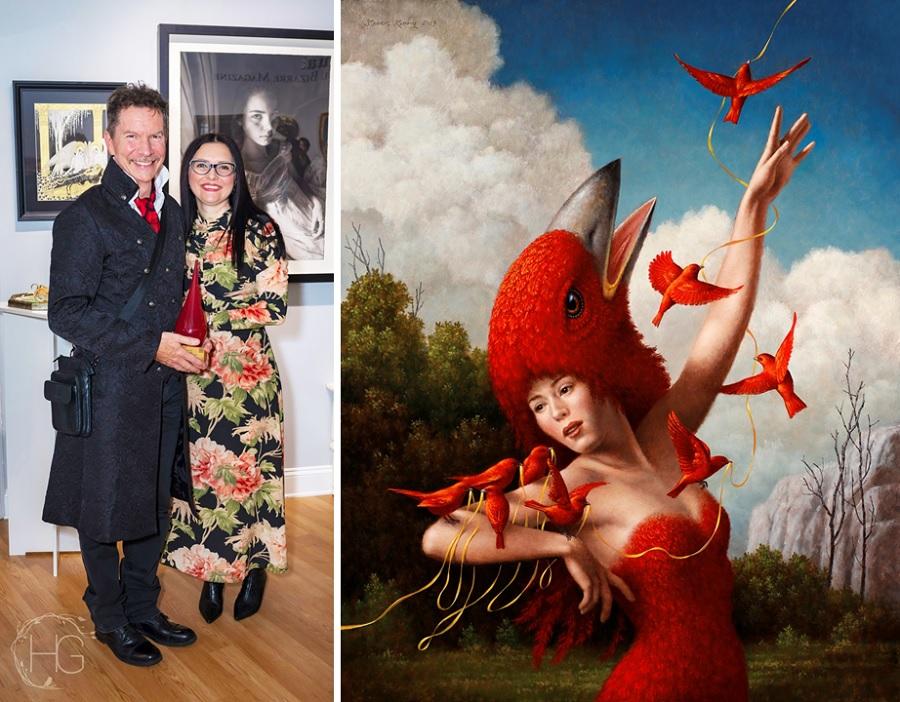 Beautiful Bizarre Art Prize, 2019, Steven Kenny & Danijela Krha Purssey, Beautiful Bizarre Magazine Co-Founder;