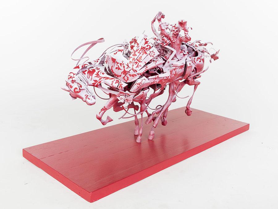 Stephen Ives horse sculpture Beautiful Bizarre Art Prize