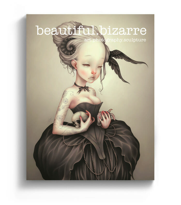 Beautiful Bizarre art magazine - Lostfish cover